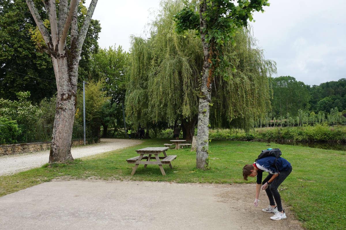 Bénévolat Journée climat nettoyage d'un parc