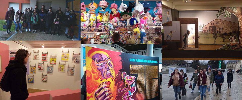 La Mission Locale emmène les jeunes au festival international de la BD à Angoulême