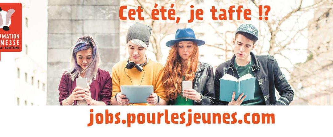 Un job pour les jeunes en Nouvelle Aquitaine