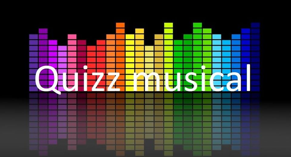 Quizz musical en ligne mercredi 13 Mai à 11 Heures