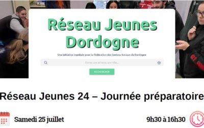 Journée Réseau Jeunes de Dordogne le samedi 25 Juillet 2020
