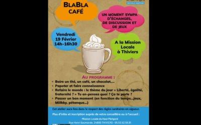 BlaBla Café Vendredi 19 février 2021