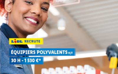 Lidl recrute un(e) equipier(e) polyvalent(e) à Thiviers